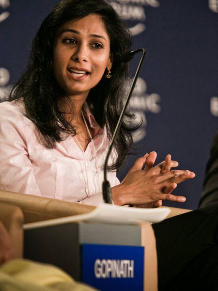 Gita Gopinath, economista-chefe do FMI, em foto de arquivo.