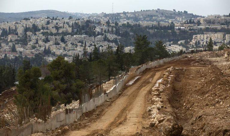 Assentamento de Ramat Shlomo, na Palestina.