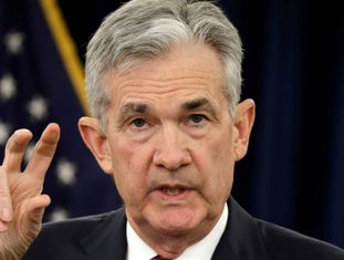 O presidente da Reserva Federal, Jerome Powell.