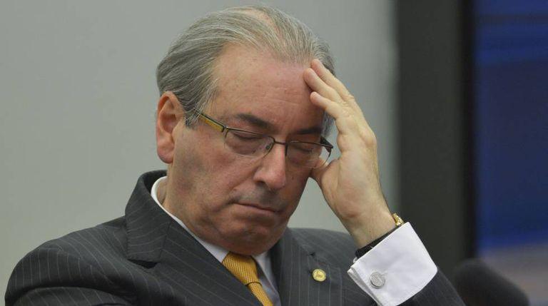 O ex-deputado Eduardo Cunha, no ano passado, na Câmara.