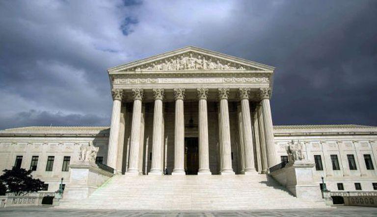 A sede do Supremo dos EUA.