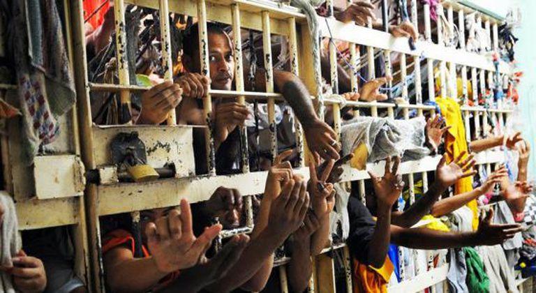 Foto cedida pelo sindicato dos servidores penitenciários do Maranhão.