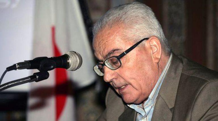Jaled Asaad, em uma imagem cedida pela agência oficial síria, Sã.