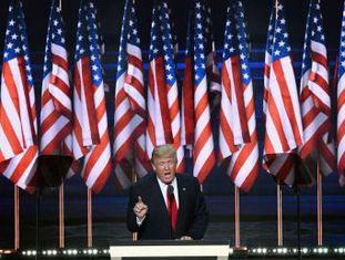 Candidato aceita formalmente a indicação do Partido Republicano à presidência