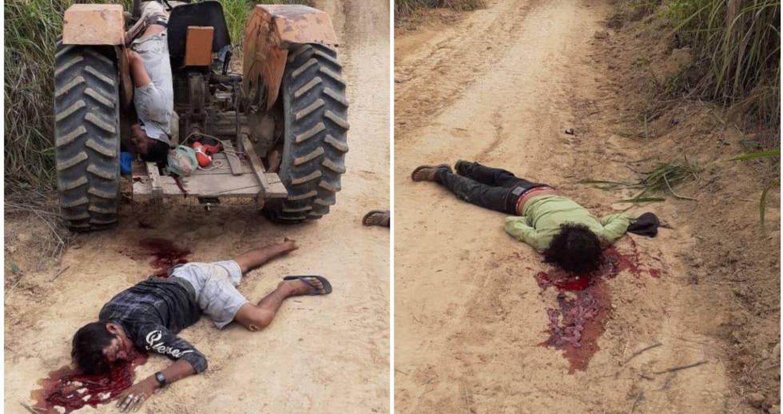 Três pessoas foram encontradas mortas pela polícia em Anapu no dia 1 de setembro. As fotos circularam pelos celulares da população.