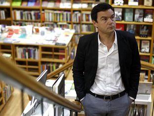 O economista francês em Madri.