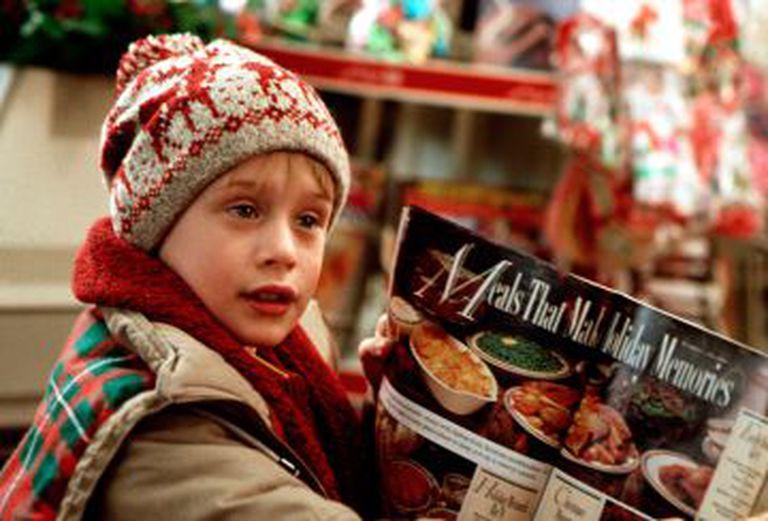 Macaulay Culkin, em 'Esqueceram de mim' (1990).