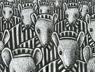 Imagem da 'graphic novel' 'Maus'.