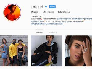 A conta em Instagram da popular humanoide Miquela Sousa.