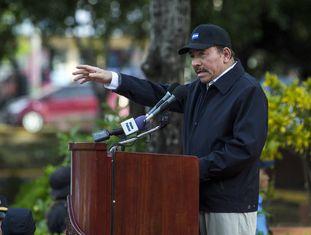 Daniel Ortega, nesta quinta-feira.