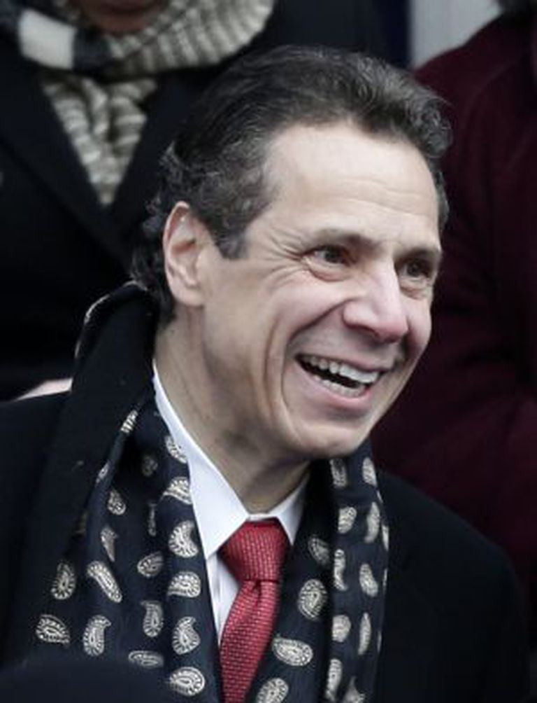 O governador do Estado de Nova York, Andrew Cuomo.