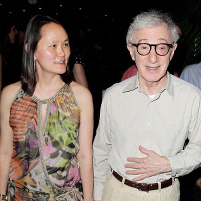 Woody Allen e Soon-Yi, em uma imagem de 2012.