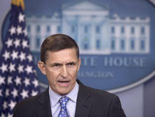 Michael Flynn, ex-assessor de Segurança Nacional do presidente Donald Trump, na Casa Branca.