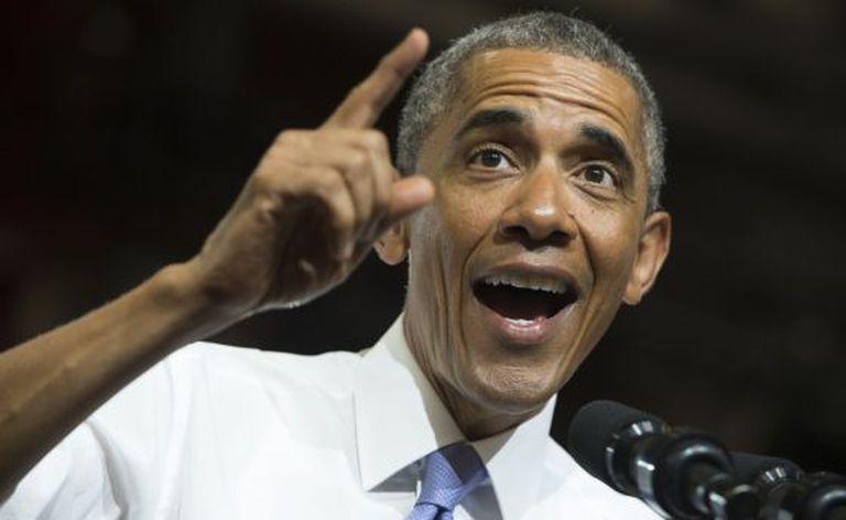 O presidente dos EUA, Barack Obama, discursa em evento sobre o setor imobiliário em Phoenix (Arizona), em 8 de janeiro de 2015.