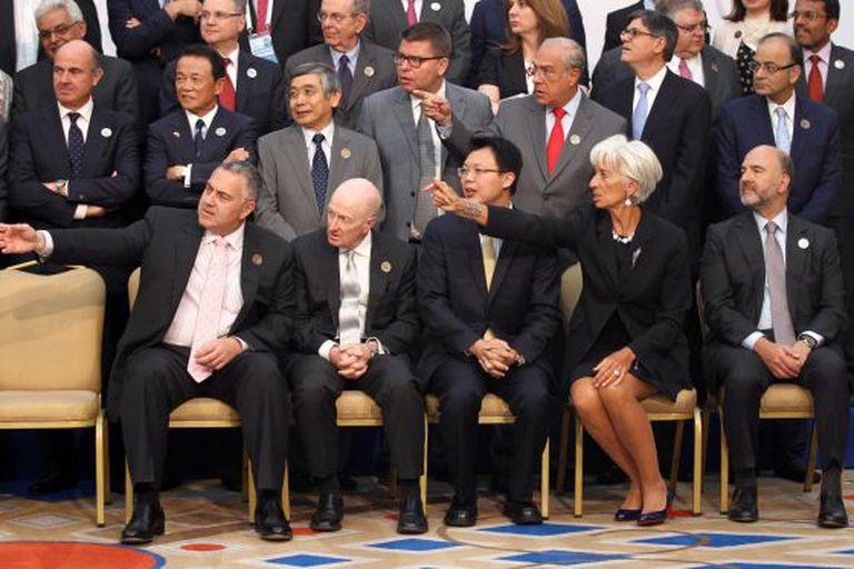 Reunião dos ministros de Economia e Finanças do G20.