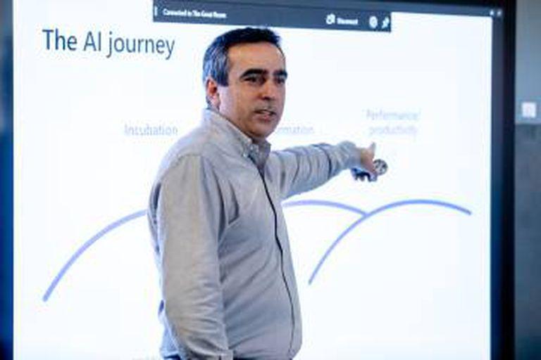 David Carmona, diretor-geral de AI da Microsoft.