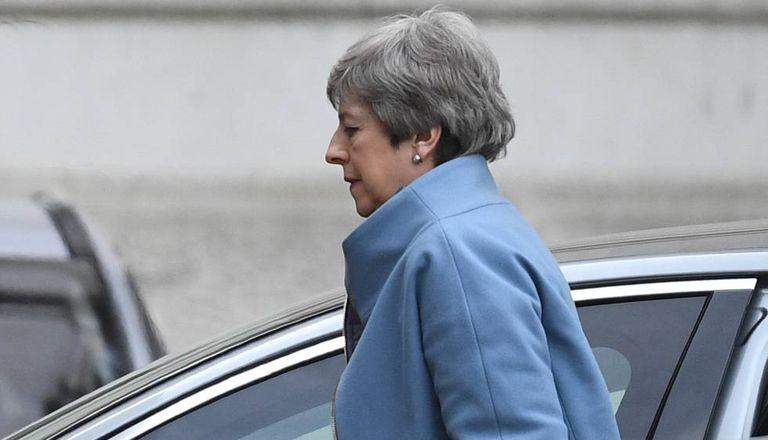 Theresa May, nesta segunda-feira.
