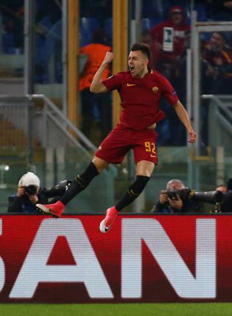 El Shaarawy comemora seu primeiro gol.