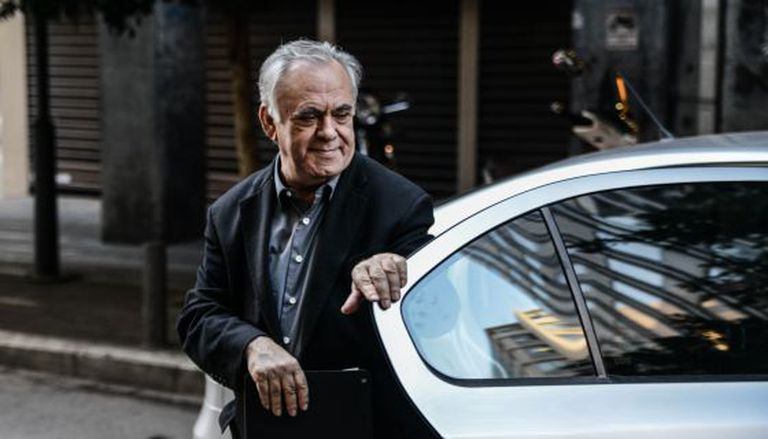 Yanis Dragasakis, líder da equipe negociadora da Grécia.