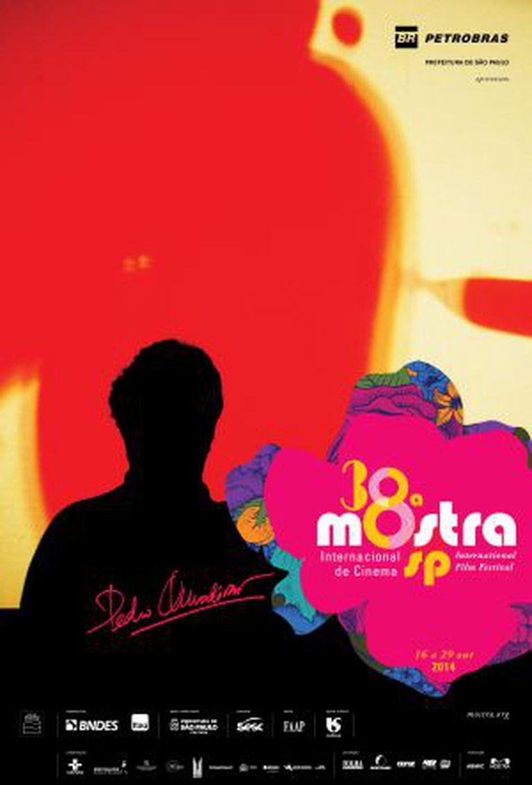 Cartaz da atual edição da Mostra, que homenageia Almodóvar.