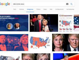 As eleições nos EUA e seus protagonistas, além dos atentados terroristas, estão entre os temas que mais interessaram os internautas neste ano