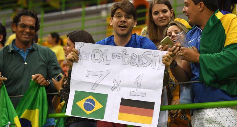 O brasileiro só pensa no 7 a 1.