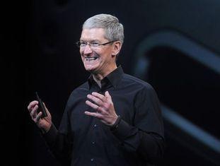 Tim Cook, diretor-executivo da Apple, em outubro de 2013.