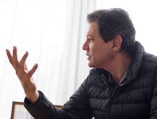 Fernando Haddad, coordenador do programa de Governo do PT.