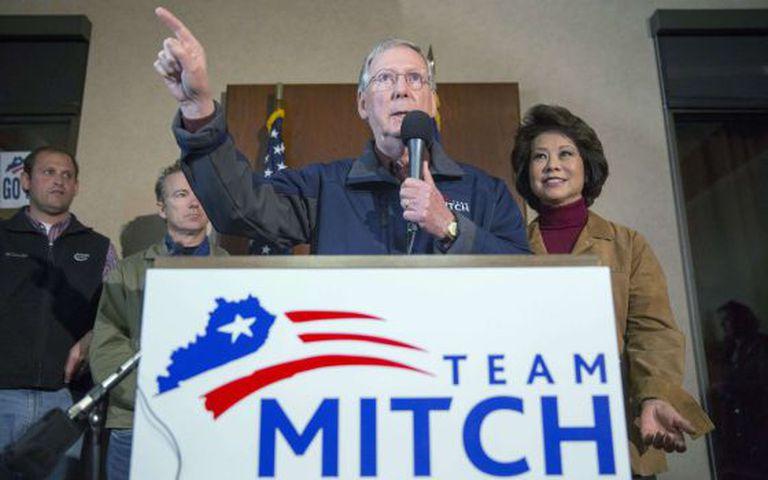 No caso de uma vitória republicana, McConnell será o líder da maioria do Senado.