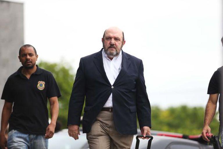 Ricardo Pessoa, quando foi preso pela PF.