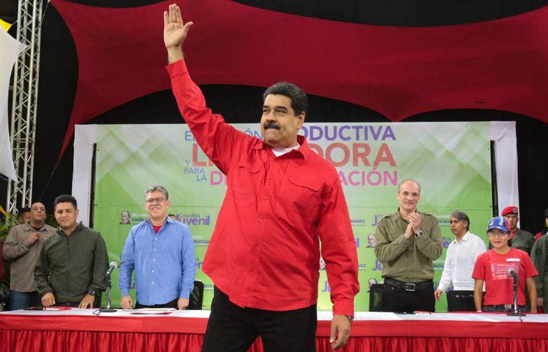 Nicolás Maduro na quarta-feira, em Caracas.