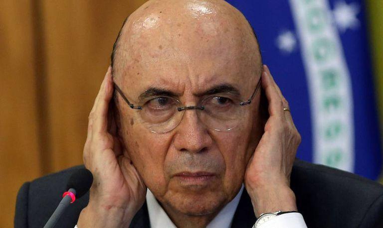 O ministro da Fazenda, Henrique Meirelles.