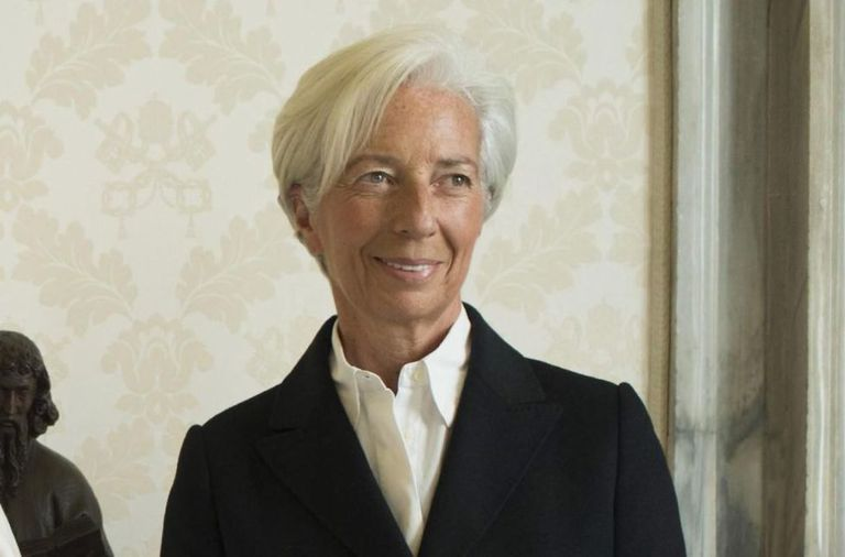Christine Lagarde, diretora do FMI