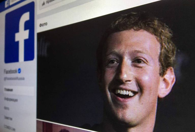 Mark Zuckerberg, fundador do Facebook.