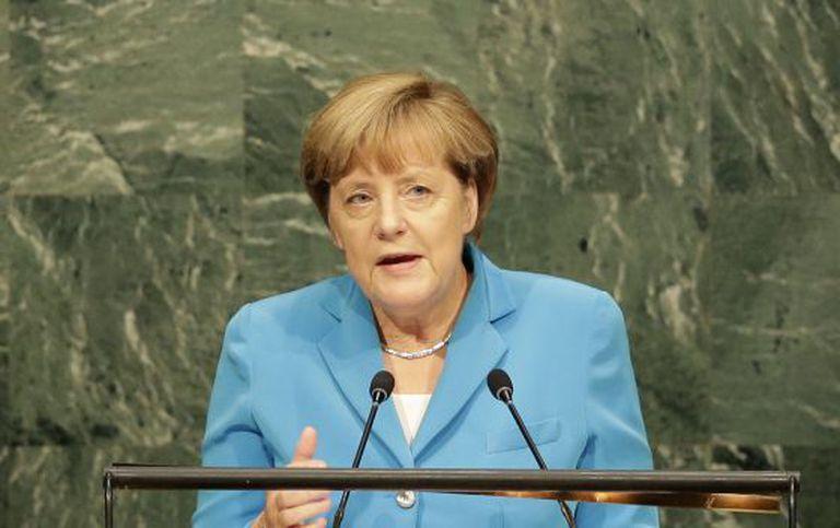 Merkel, uma das poucas líderes mundiais mulheres.
