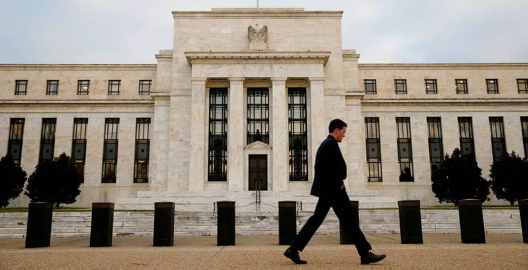 Sede o Federal Reserve (Fed, o Banco Central americano) em Washington.
