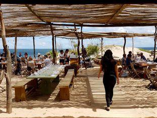 Terraço do restaurante La Susana, em José Ignacio (Uruguai).