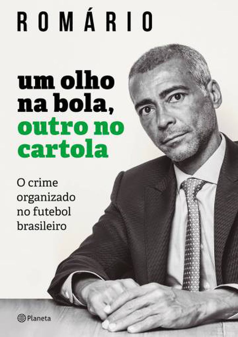 Livro de Romário lançado neste sábado.