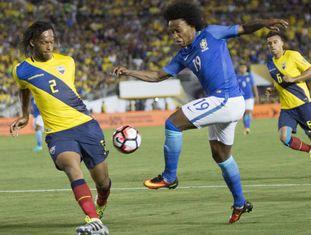 Willian (foto) será titular contra o Haiti.