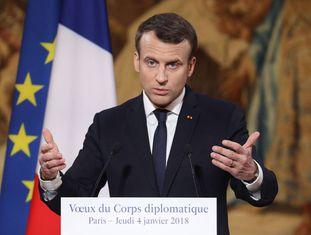 Emannuel Macron.