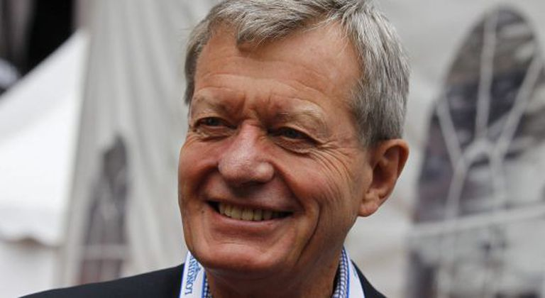 O embaixador norte-americano na China, Max Baucus.