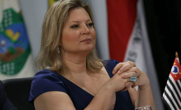 A deputada Joice Hasselmann, do PSL.