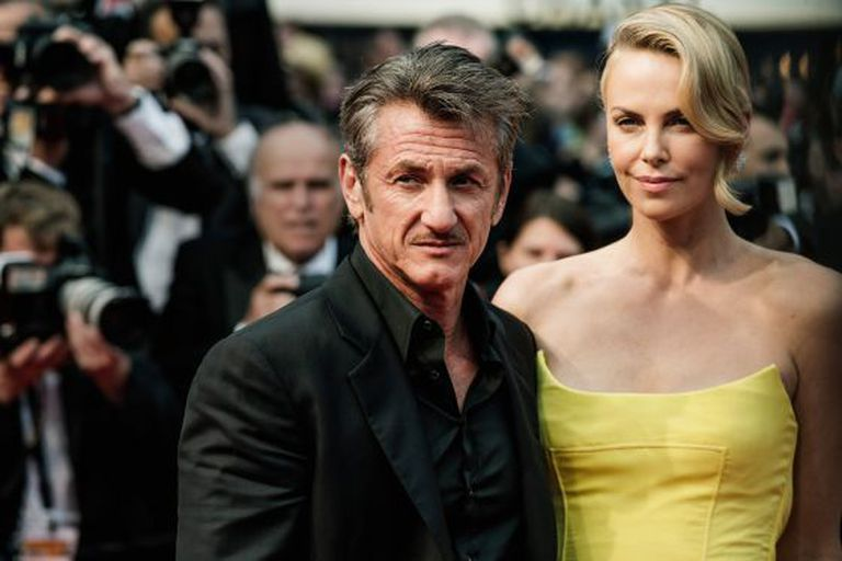 Sejam Penn e Charlize Theron, no tapete vermelho do festival de Cannes em maio.