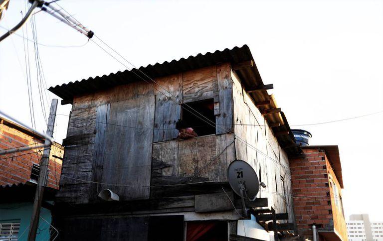 Favela do Moinho, nesta quarta-feira.
