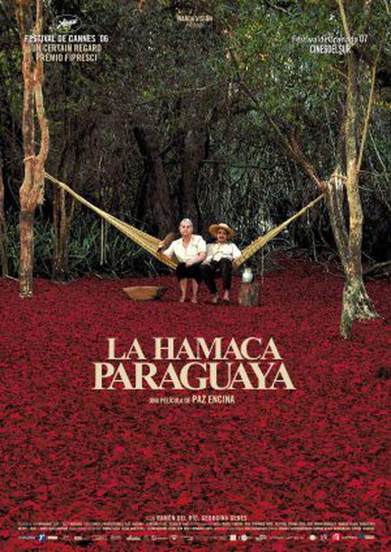 O cartaz do filme que acabou com o hiato de mais de 30 anos sem filmes no Paraguai.