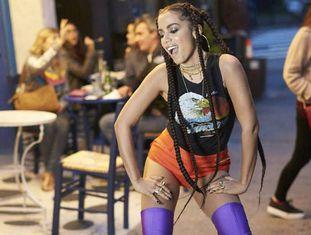 A cantora Anitta.