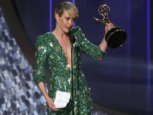 Sarah Paulson, ganhadora do Emmy por 'The People v. O.J. Simpson: American Crime Story'.