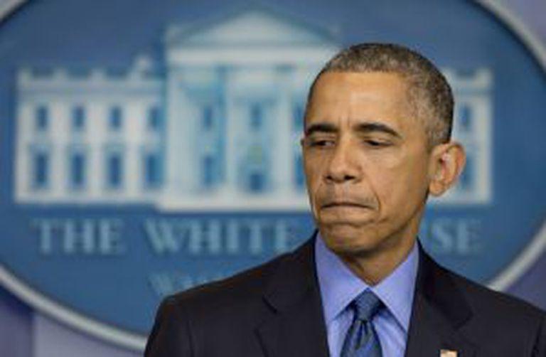 Obama, nesta quinta-feira na Casa Branca.