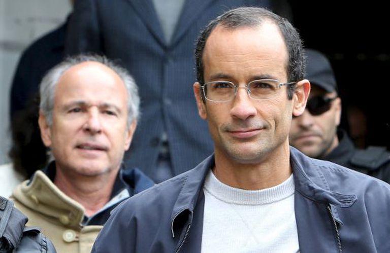Otavio Azevedo e Marcelo Odebrecht, detidos em junho de 2015.
