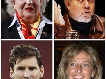 """Pilar de Borbón, Pedro Almodóvar, Lionel Messi e Micaela Domecq Beaumont são alguns dos espanhóis nos """"papéis do Panamá"""""""